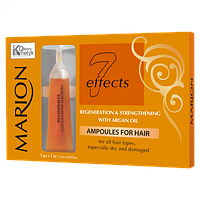 Ампули для волосся з аргановою олією Marion, 5х7 мл