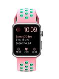 Ремешок Nike Sport Band Apple Watch  pink mint 38/40 mm, фото 3