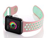 Ремешок Nike Sport Band Apple Watch  pink mint 38/40 mm, фото 4