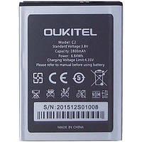 Аккумулятор Oukitel C2. Батарея Oukitel C2 (1800 mAh). Original АКБ (новая)