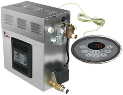 Парогенератор (Хаммам) SAWO STP (Pump+Dim+Fan) 75 (Ароматерапия+Свет+Вентиляция) - КОМПЛЕКТ