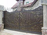 Ворота откатные кованые (MD-VKO-002)