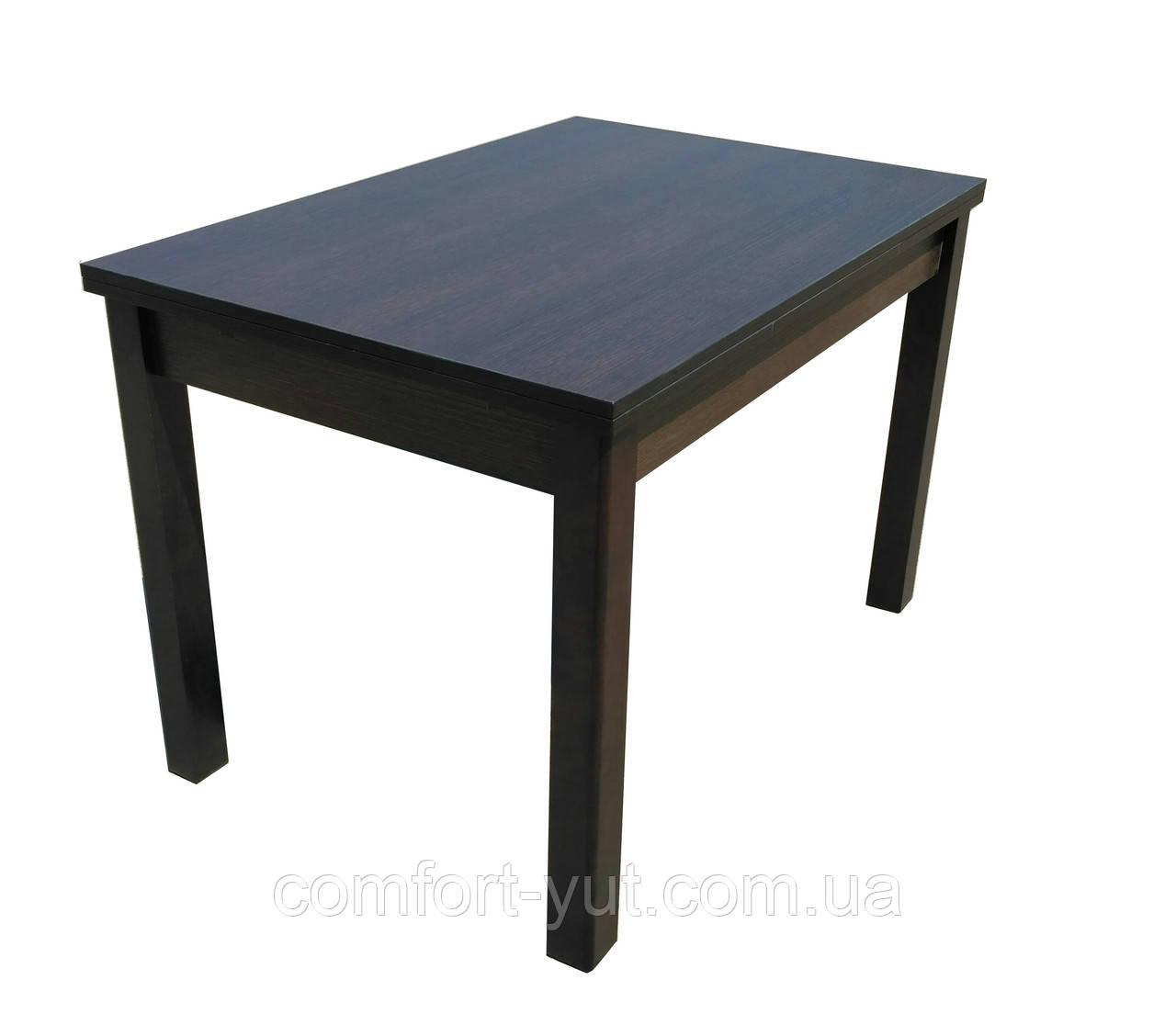 Стол обеденный Марсель 90(+35+35)*70  венге - Венге Престиж