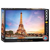 "Пазл ""Париж. Эйфелевая башня"", 1000 элементов, EuroGraphics, фото 1"