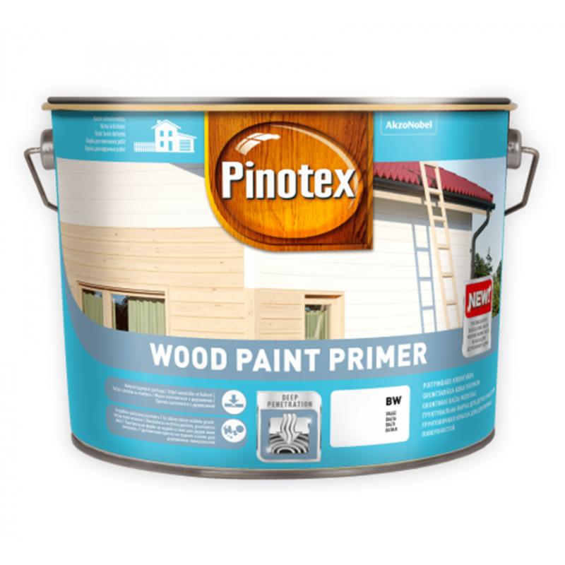 Pinotex Wood Paint Primer - Алкидная грунтовочная краска 10л.БЕСПЛАТНАЯ ДОСТАВКА