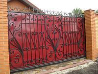 Ворота откатные кованые (MD-VKO-003)