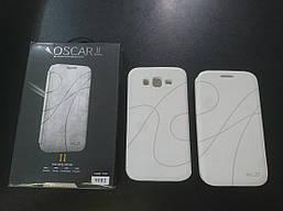 Чехол-книжка Oscar для Samsung Galaxy GT-I9082 Grand Duos White