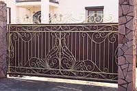Ворота откатные кованые (MD-VKO-004)
