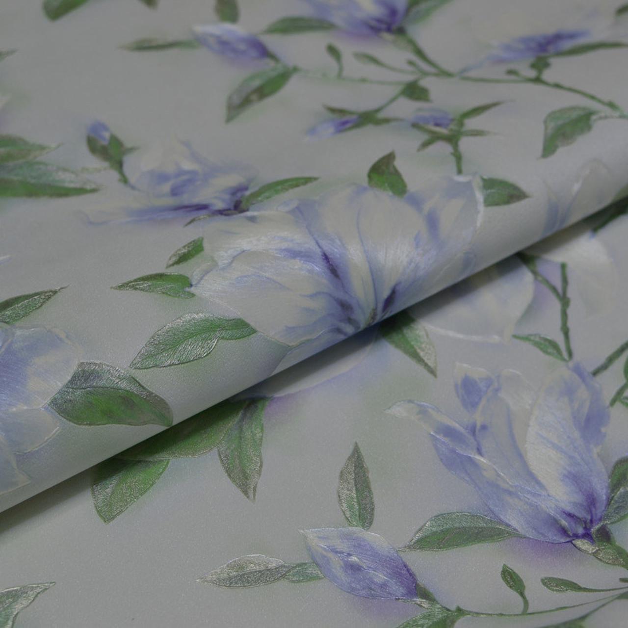 Обои на стену, винил на флизелине, цветы 9080-27, пара 9090-17, 1,06*10м