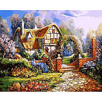 Картина по номерам Babylon Сказочный сад 40Х50 см VP1091