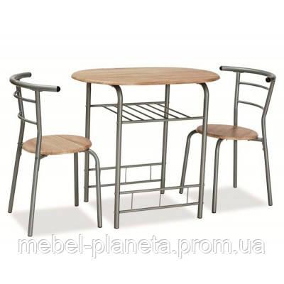 """Комплект стол и стулья """"Gabo"""" Сигнал, стол для двоих"""