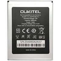 Аккумулятор Oukitel C3. Батарея Oukitel C3 (2000 mAh) для C3 S-TELL M510 Bravis A503. Original АКБ (новая)