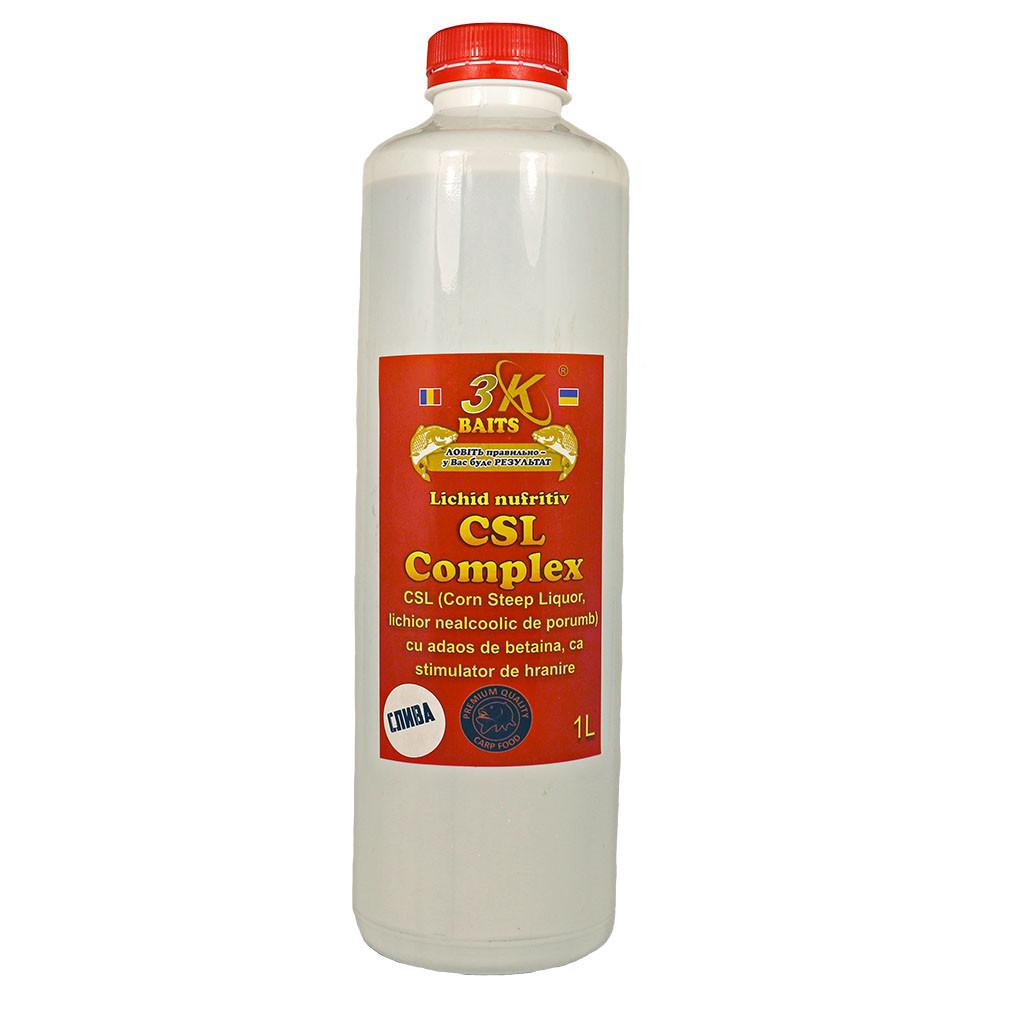 Кукурузный ликер 3k Baits CSL Сomplex + Слива 1л