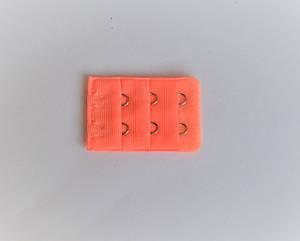 Подовжувач для бюстгальтера Lemila на 2 гачка блідо помаранчевий (6442)