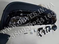 Диффузор заднего бампера Mercedes GLA-class X156 стиль GLA45 AMG