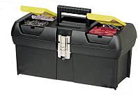 Ящик для інструментів 33см металевий замок stanley