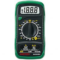 Мультиметр MASTECH MAS830BC с подсветкой экрана, амперметр, вольтметр, прозвонка