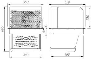 Моноблок потолочный Полюс MMR 109, фото 2