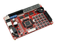 Отладочная плата, стенд разработчика AVR ATMEGA128