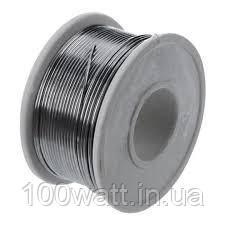 Олово с канифолью на катушке  1,0мм (припой) 100г GAV 458