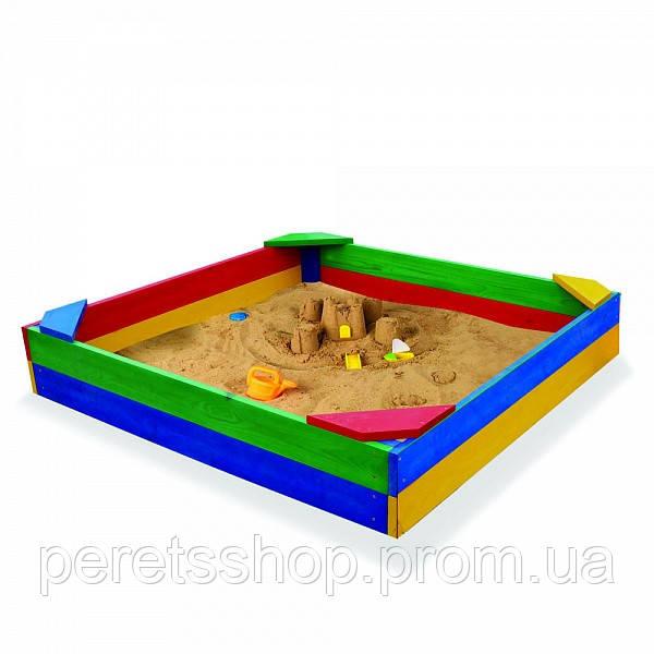 Песочница детская 120*120см Funbaby