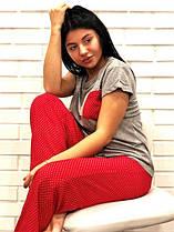 Женские пижамы с штанами викоза, штапель, софт