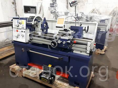 Zenitech MD 360-1000 Digi Токарный станок по металлу с УЦИ зенитек мд токарний верстат винторезный, фото 2