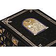 """Книга в шкіряній палітурці і подарунковому футлярі """"Великокнязівське, царське та імператорське полювання на Русі"""" Кутєпов Н.І., фото 3"""