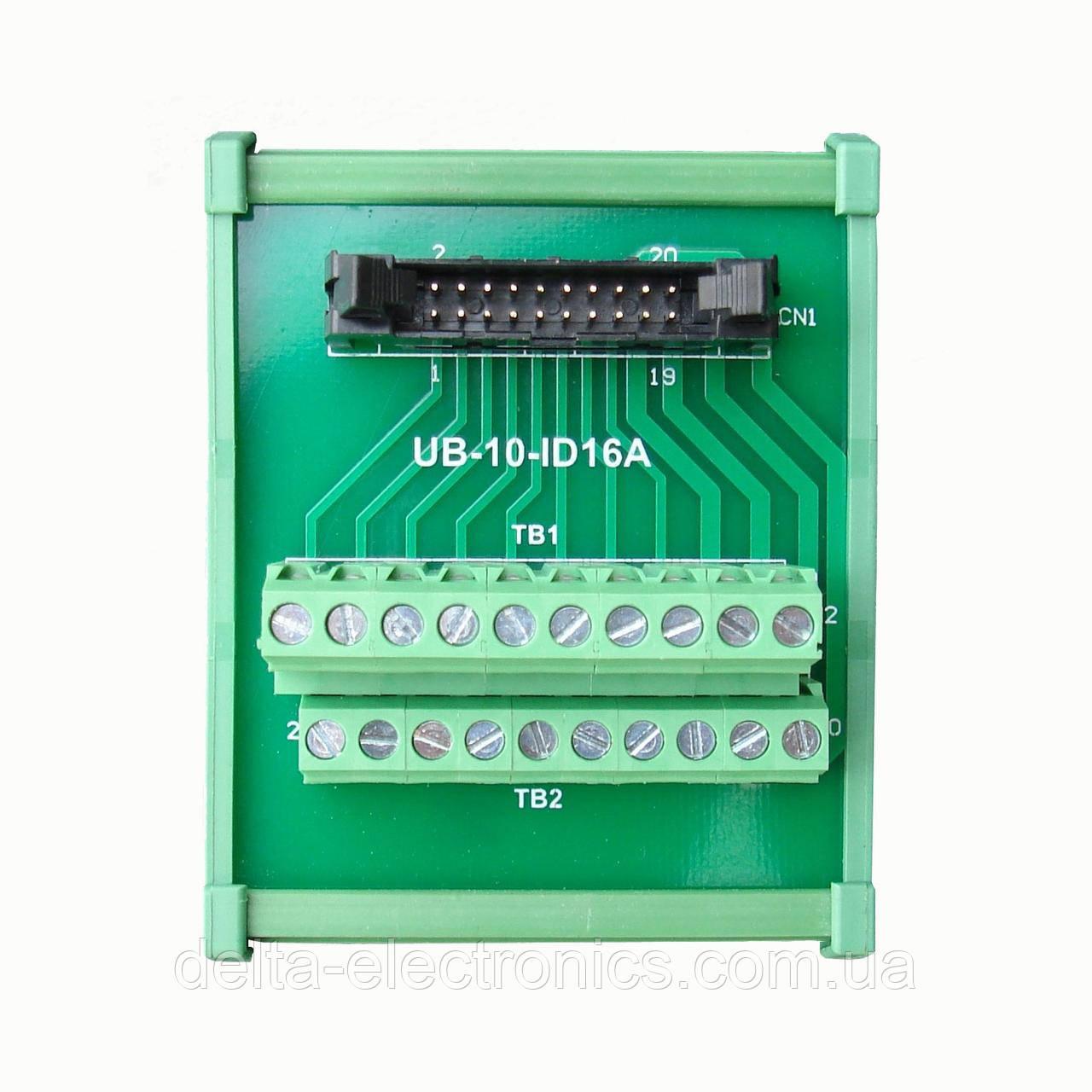 Выносной клеммный модуль дискретных входов/выходов ЦПУ AS200/300