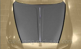MANSORY engine bonnet with bar exposed for Rolls-Roys Dawn