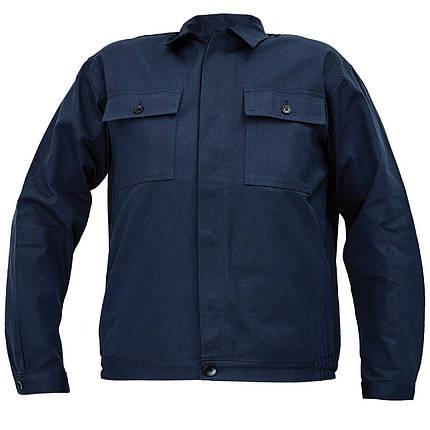 Костюм (полукомбинезон с курткой) рабочий RALF лето Хлопок 100% темно-синий, фото 2