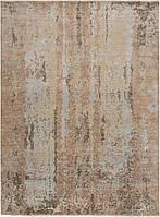 Иранский шерстяной ковёр ручной работы с шёлковым объемным Гелекси 3D. Шерсть + Шёлк. Размер 3680 х2780мм.