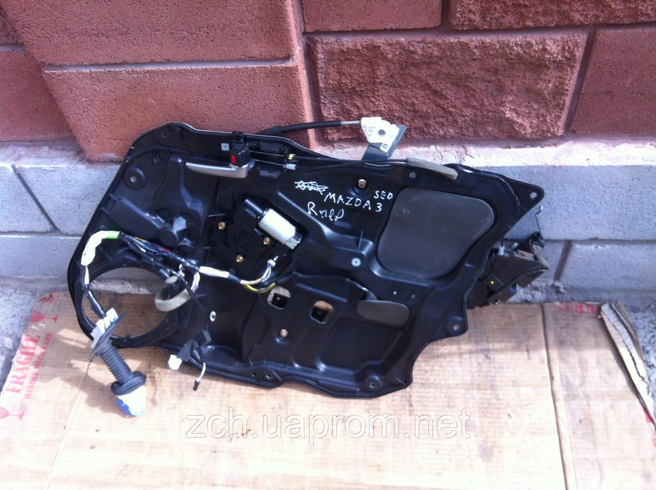 Моторчик стеклоподемника Mazda 3 Хэтчбек