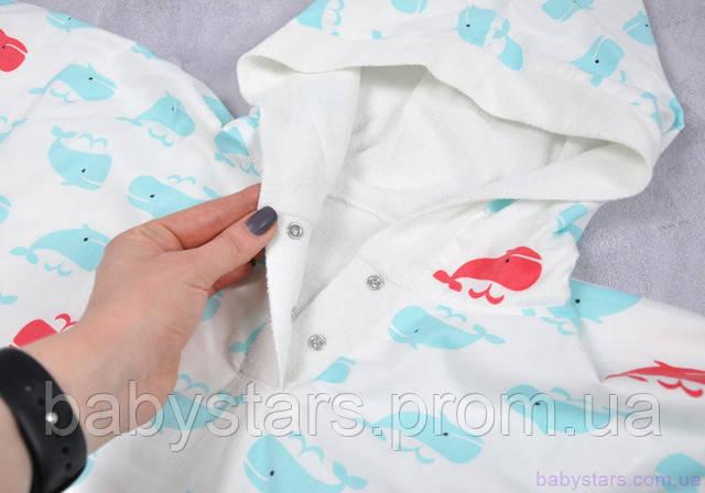 Полотенце пончо для детей