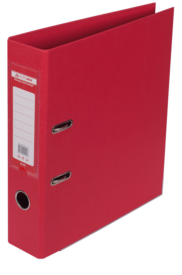 Регистратор цв А470мм PP красный