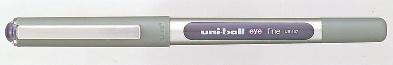 Роллер uni-ball EYE fine 0.7мм фиолетовый