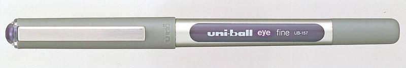 Роллер uni-ball EYE fine 0.7мм фиолетовый, фото 2