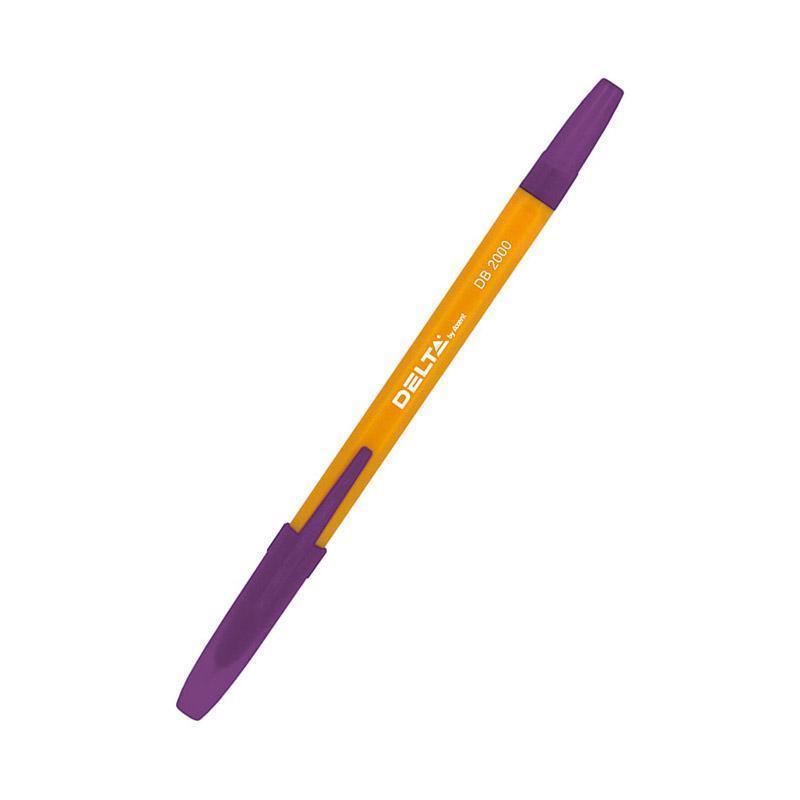 Ручка шариковая Axent фиолетовый DB2000-11
