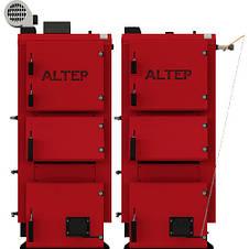 Твердотопливный котел длительного горения Альтеп DUO PLUS 27 кВт (автоматика), фото 2