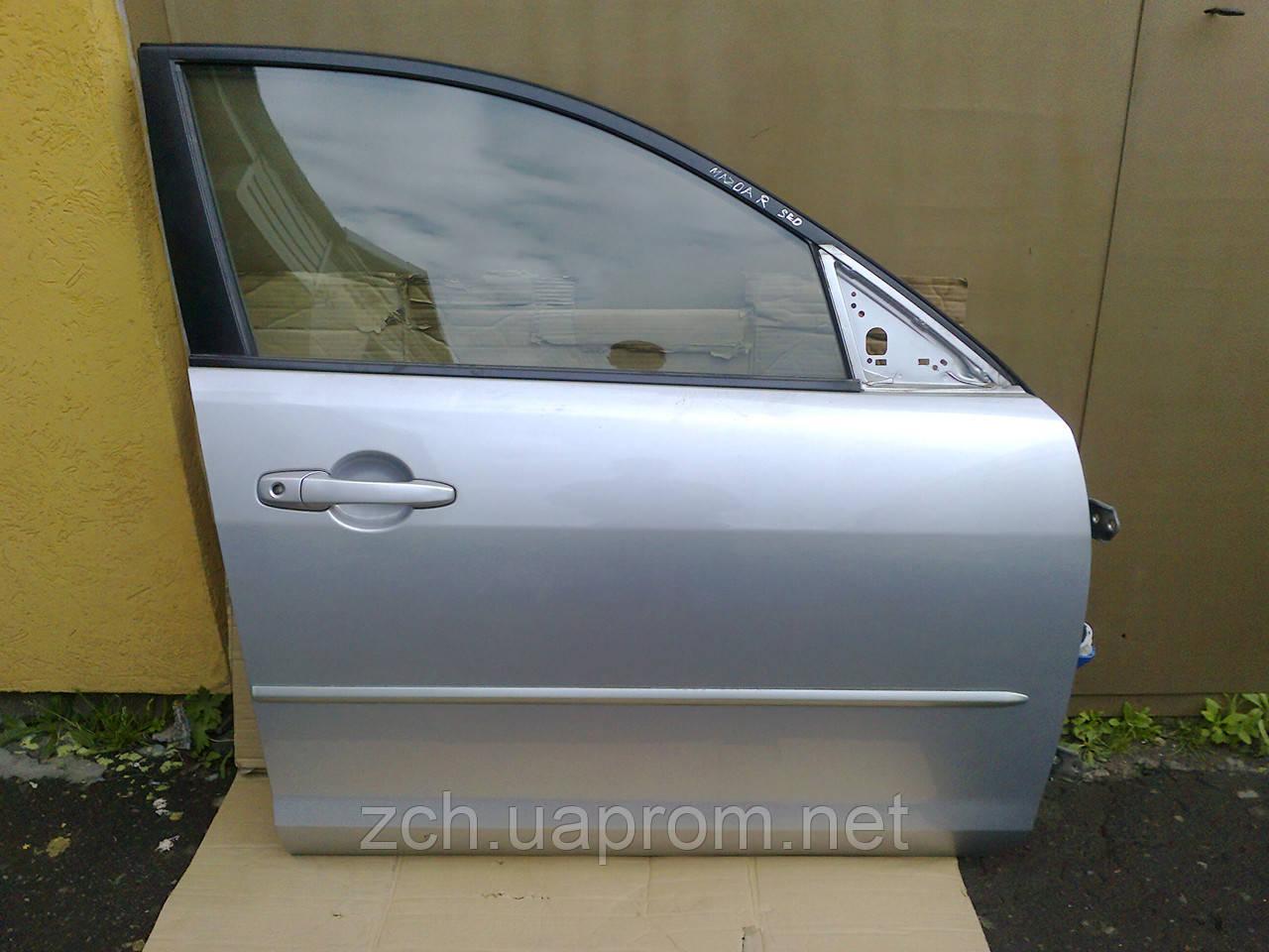 Стекло двери Mazda 3 Хэтчбек