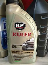 Охлаждающая жидкость K2 антифриз зеленый 1л -80