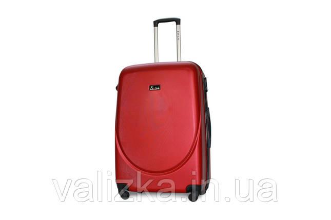 Большой пластиковый чемодан Fly 310 красный, фото 2