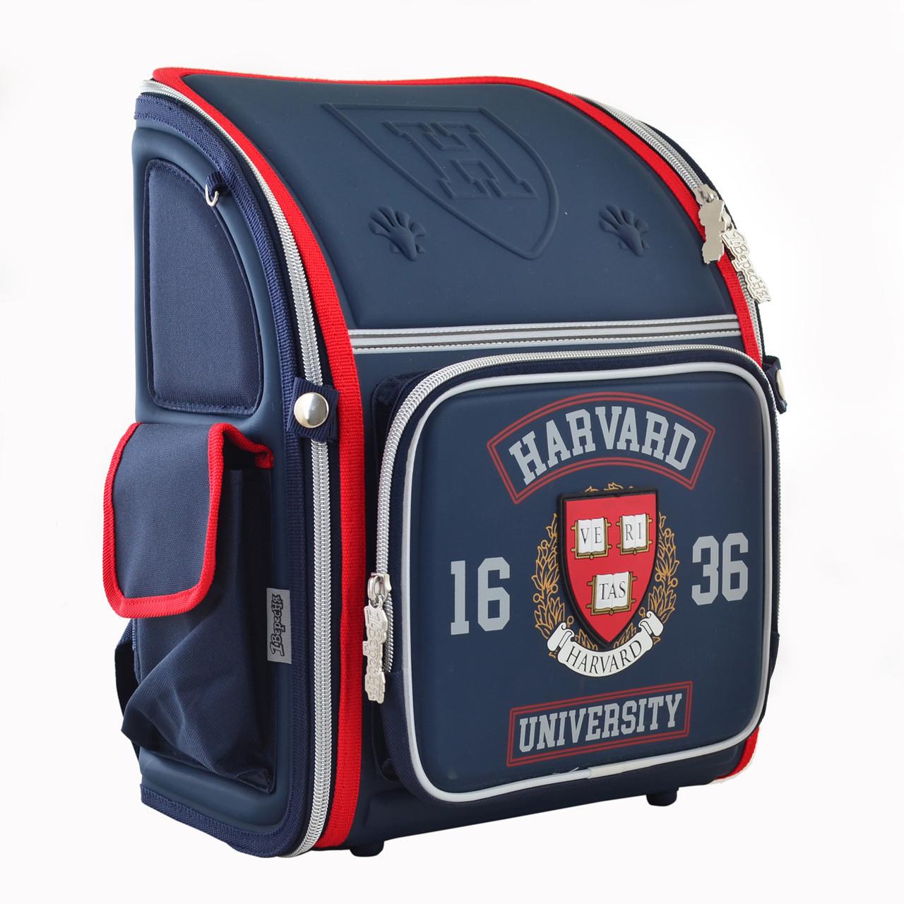 Рюкзак школьный 1 Вересня каркасный Harvard 555108