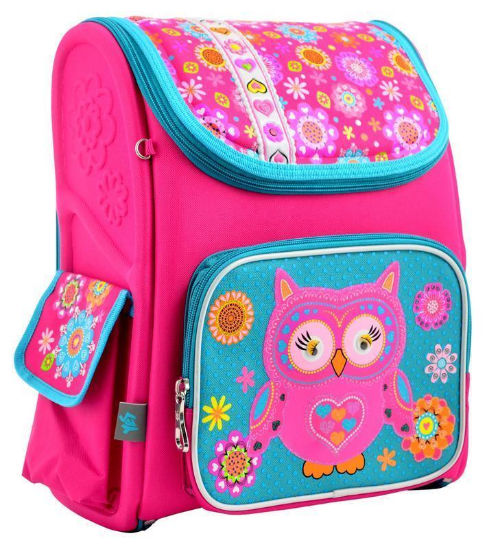 Рюкзак школьный 1 Вересня каркасный Owl 555100