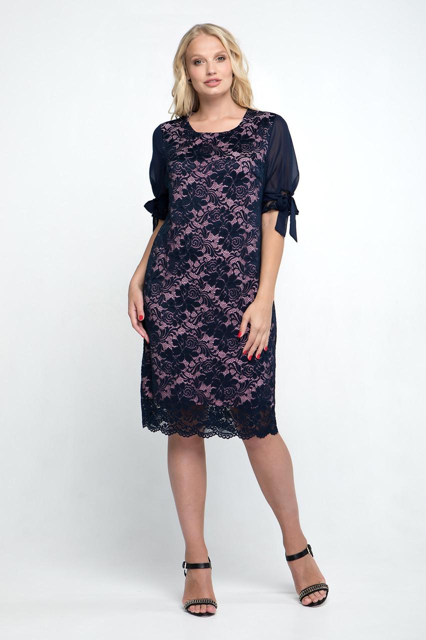 Платье большого размера Джайра 52-60, красивое