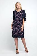 Платье большого размера Джайра 52-60, красивое, фото 1