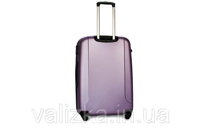 Большой пластиковый чемодан Fly 310 фиолетовый, фото 2