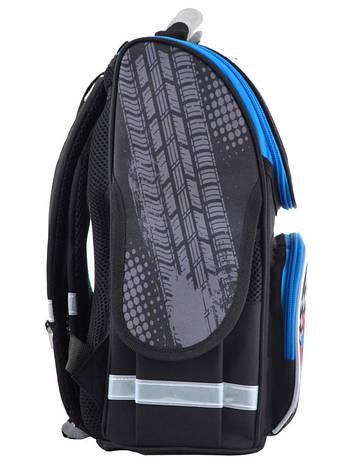 Рюкзак школьный Smart каркасный Speed racing 554515, фото 2
