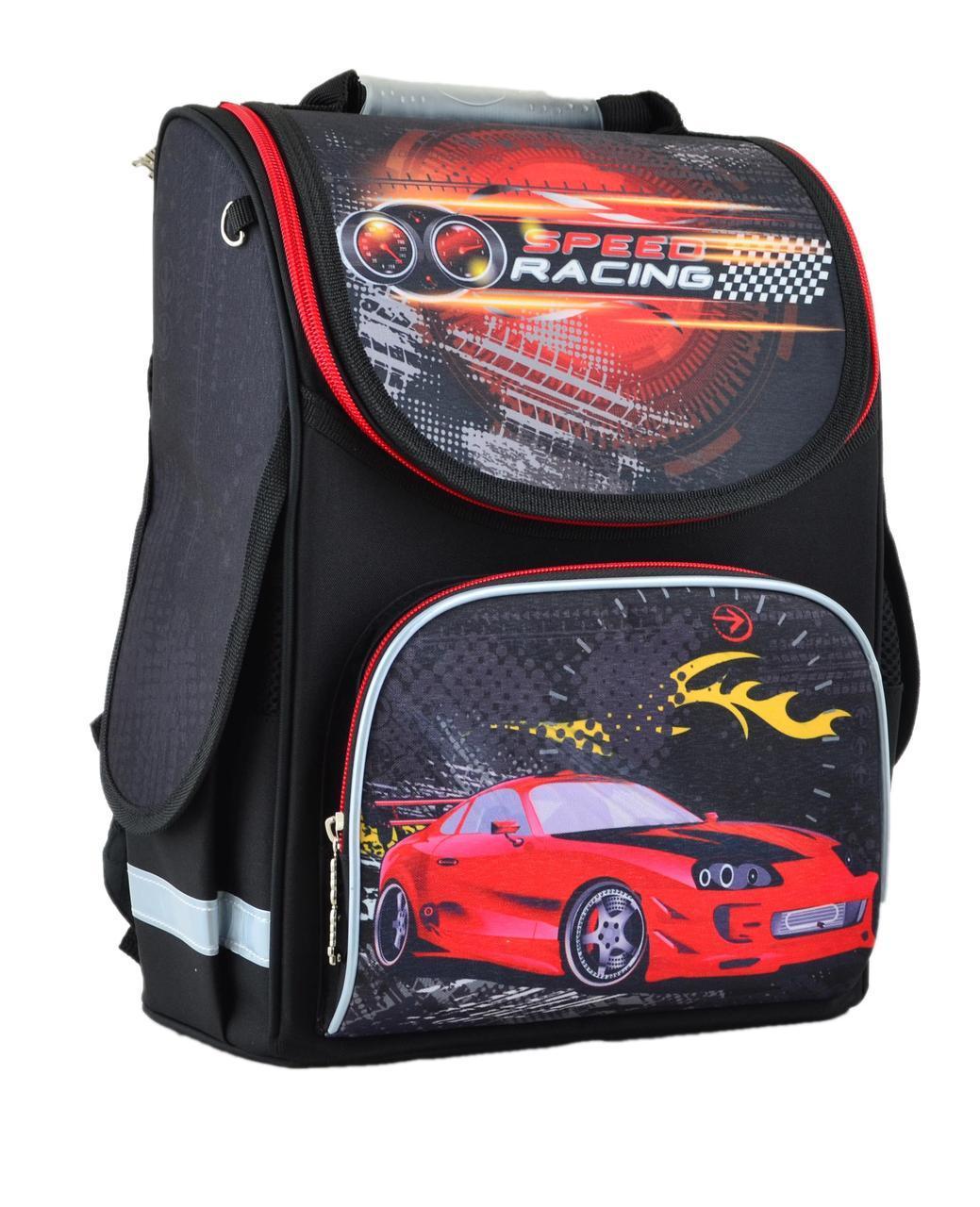 Рюкзак школьный Smart каркасный Speed racing 554547