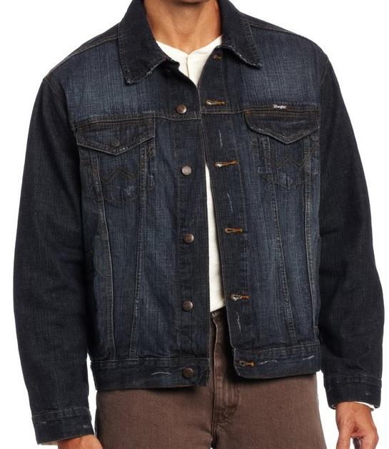 Джинсовая куртка wrangler hero